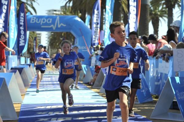 אימון כושר לילדים - תחרות טריאתלון ילדים