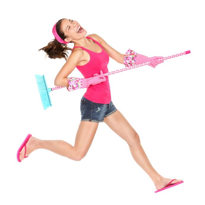 אימון כושר אישי - המלצות שיסייעו לכם לשמור על בריאות גופכם במהלך ניקיון הבית