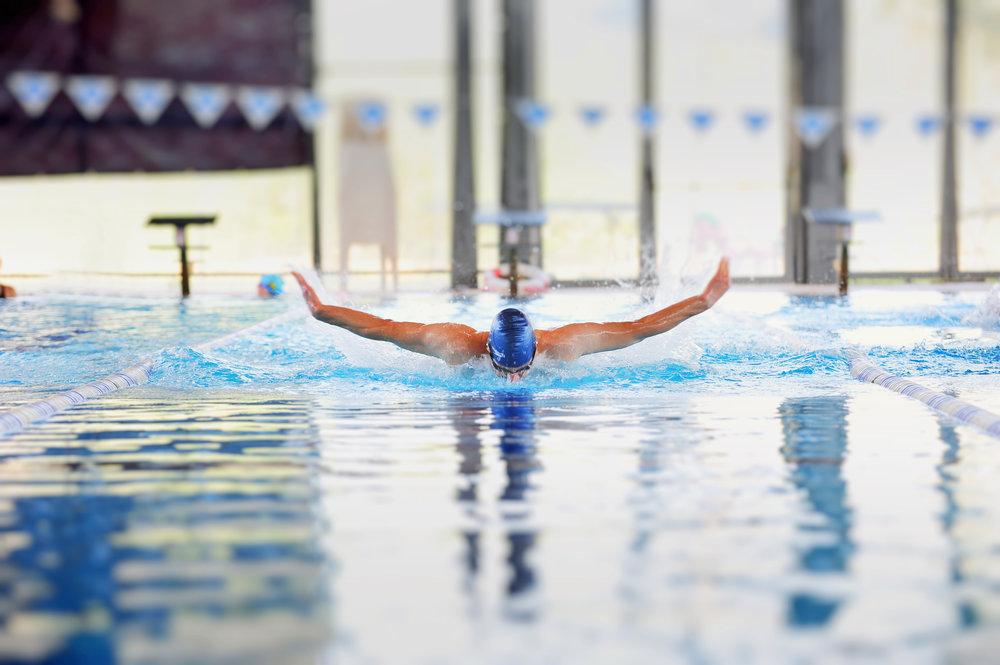 אימון שחייה אישי - שחייה בסגנון פרפר