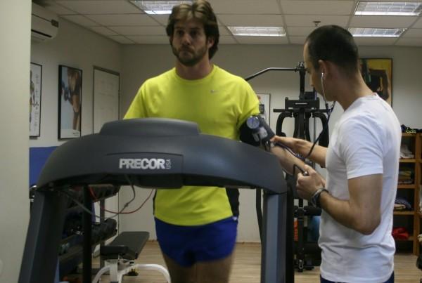 מאמן כושר אישי - ניטור לחץ דם במאמץ